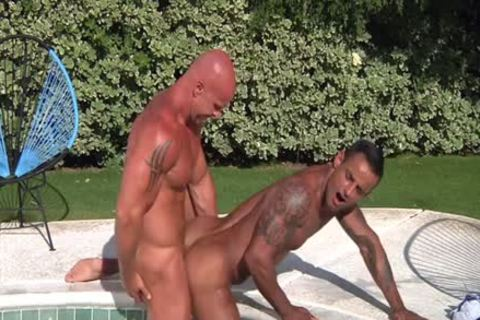 David Benjamin And Mitch Vaughn In Trunks 8