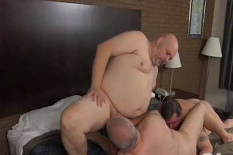 plowing His Blistering overweight Bumhole
