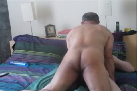 ambisexual Columbian BearCock Beats Up one as well as the other My Holes.