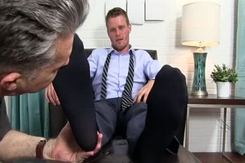 Muscle gay Foot And spunk flow