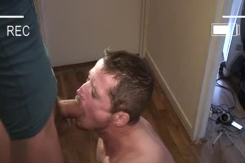 Muscle homosexual blowjob stimulation With Facial