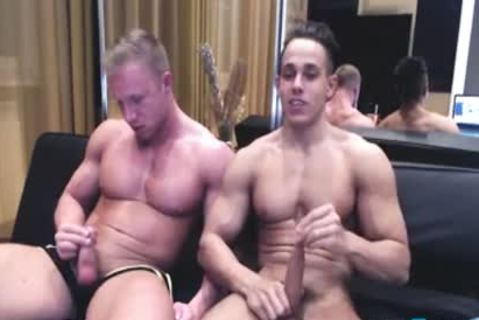 wild Hunks cum jointly
