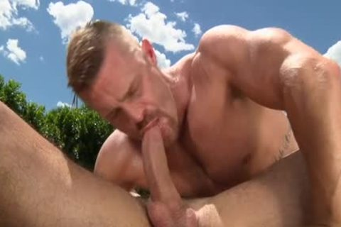large 10-Pounder homosexual Outdoor Sex With cumshot