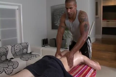 large penis homo oral sex With Massage