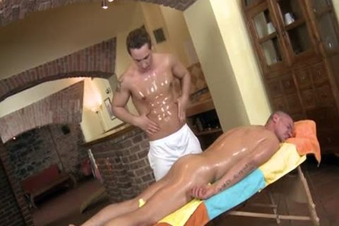 large rod Daddy blow job-sex With Massage