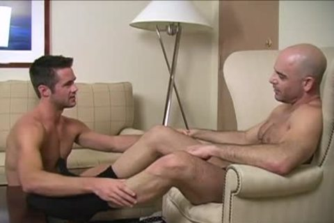 lovely gay Foot And cumshot