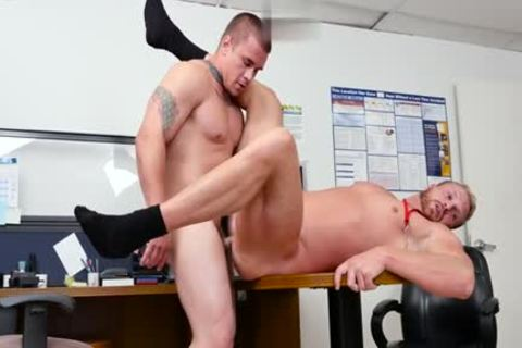 Muscle homosexual oral-service With Facial