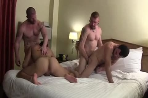 Muscle bare orgy