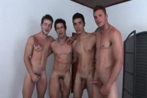 Four friends In A bunch sex fuck