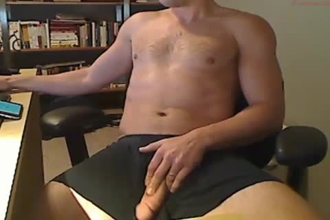 jerking off cock On Camera