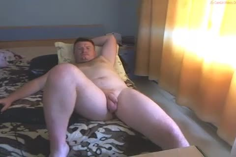 Ginger Cub Exposes His messy Bits