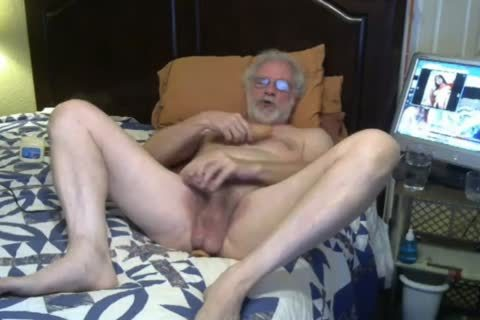 grand-dad wank And Play On webcam