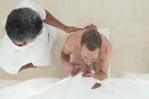Mormonboyz - blonde Hunk Services Anonymous knob