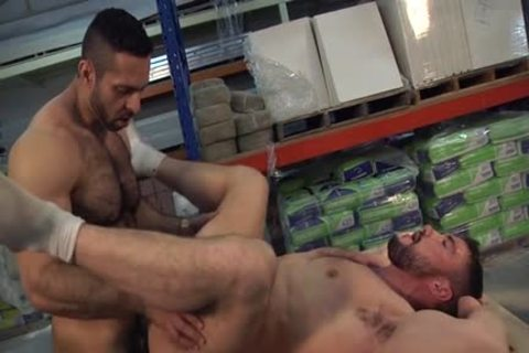 Muscle gay ass invasion With semen flow