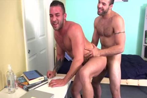hairy homosexual booty stab With cumshot