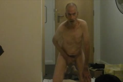 bare, bald & Masturbated