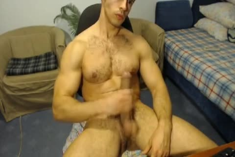 brawny Hunk With A Horse weenie Jerks Off And Cums