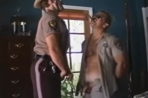 Cowboy Sheriff Sucks Off A Cop