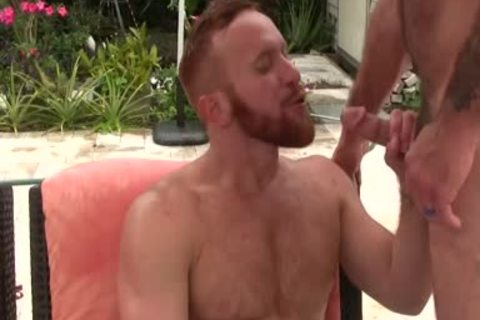 kinky bushy dad bonks Ginger Sun - cum cum cum