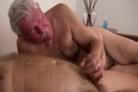 old mature men plowing