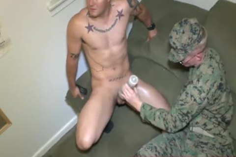 Marines Nick & James Experiment With Fleshjack