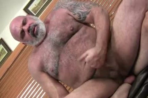 charming hairy chunky dad bonks Hard His Son