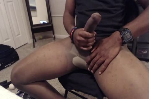 15 Minute jerk off And sperm In Sheer Energy pantyhose
