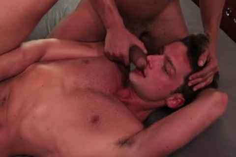 Tattoo gay 3some With ejaculation