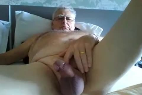 grand-dad jack off On webcam