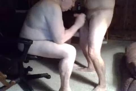 grand-dad suck On webcam