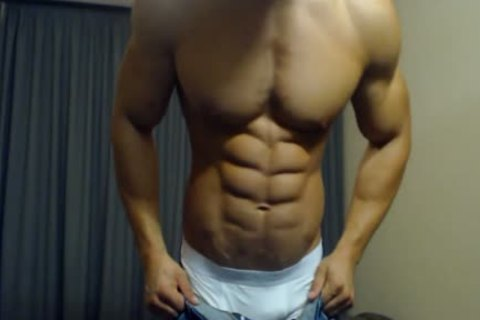 11-13 1 delicious lad Flexing His Body And dick