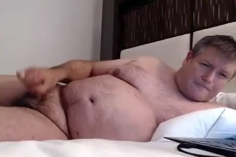daddy man cum On webcam
