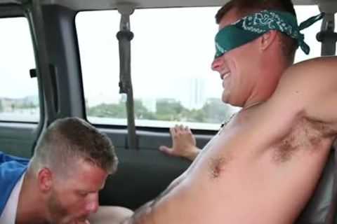 Jeremy Stevens And Jace Chambers Have homosexual Sex In A Van