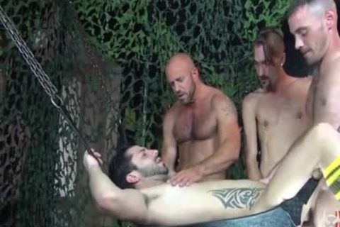 yummy raw Foursome bunch gangbang