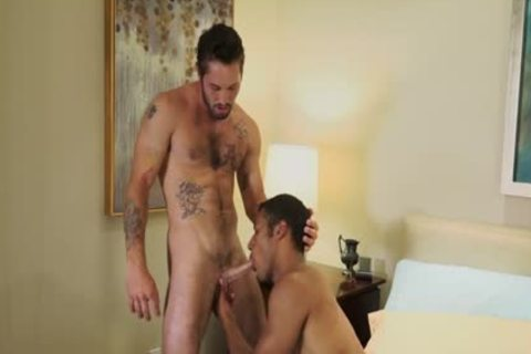 Tattoo pecker arse stab With Creampie