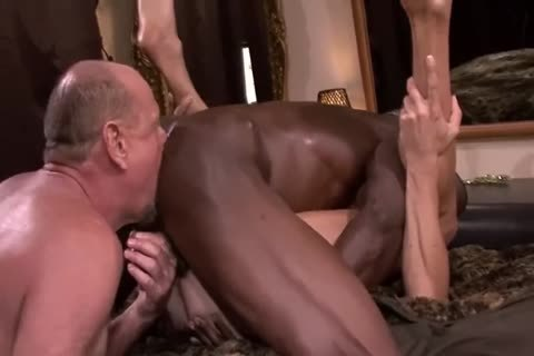 Interracial older three-some
