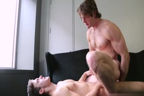 hairy gay Flip Flop With goo flow