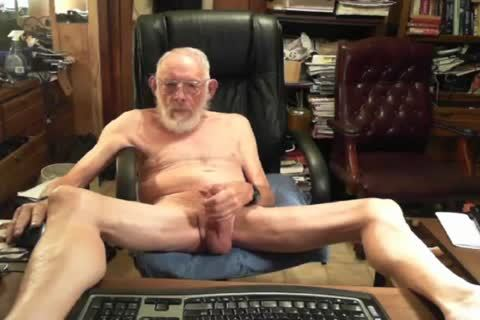 daddy man cum On cam