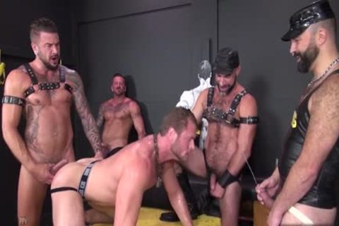 Muscle rod piss And cumshot