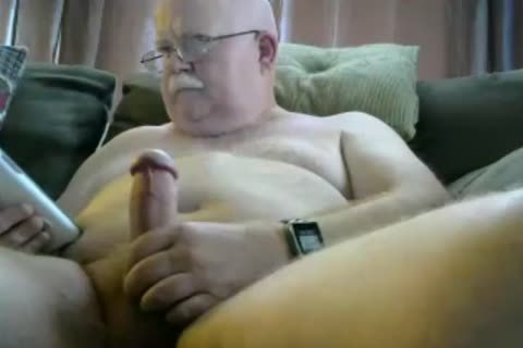 old man sperm On webcam