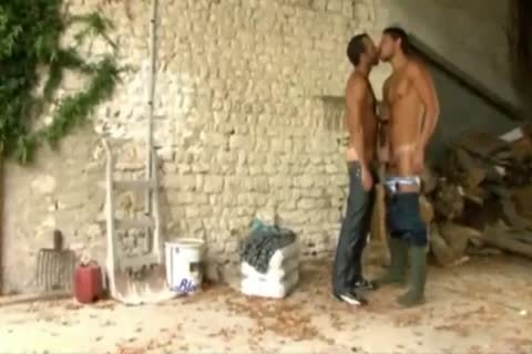 Two homosexual males In The Farm)