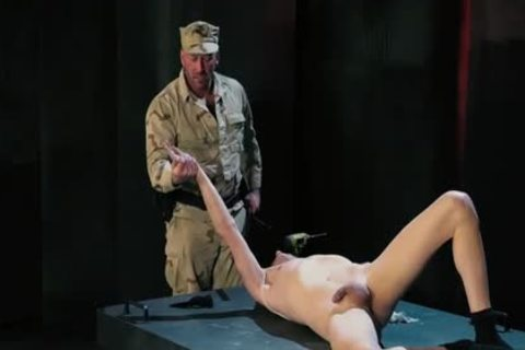 Tattoo Military Fetish With cumshot