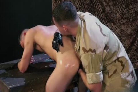 filthy Military Fetish And cumshot