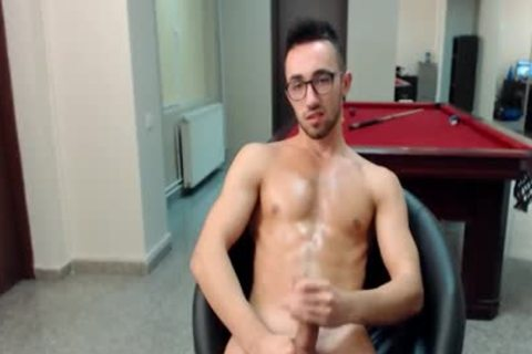 Flirt4Free Marshall knob - European twink Jacks Off His massive Uncut cock