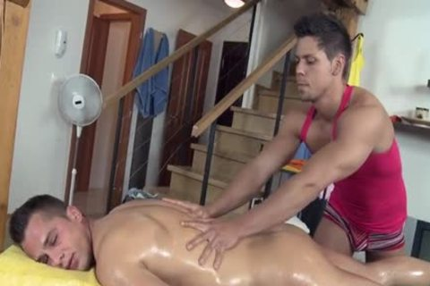 lovely Daddy pooper stab And Massage