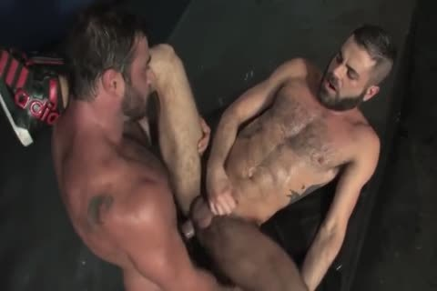 Outstanding three homosexual anal sex