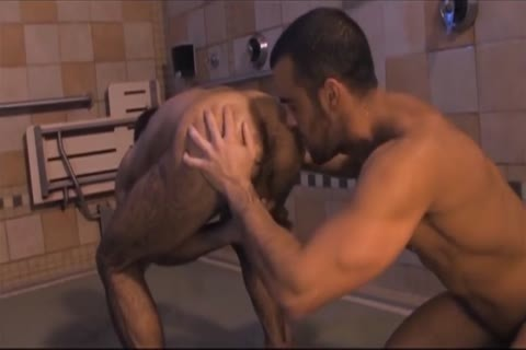 hairy Hunks Giving oral sex