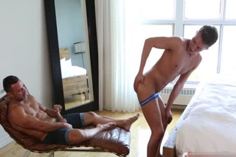 large cock Son ass job And ejaculation