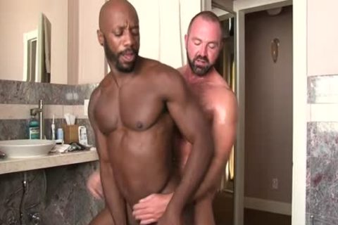 A Homo Interracial Scene With  Josh West And Race Cooper