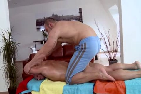Muscle Daddy a bit of wazoo And Massage